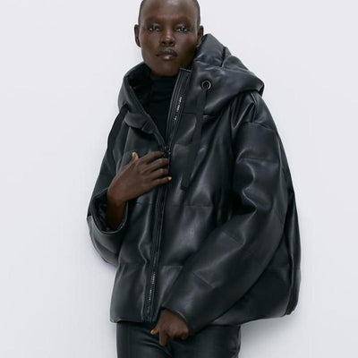 Leather Parka