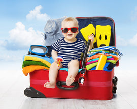 5 tips for travelling with your baby
