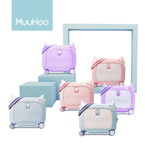 MuuHoo Luggage, Children Travel Bed Luggage