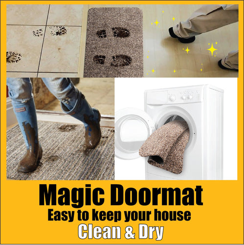 HSHMASTER™ Super Absorbent Door Mat