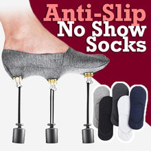 Load image into Gallery viewer, Anti-Slip Unisex Silicone No Show Socks (5 Pairs Set)