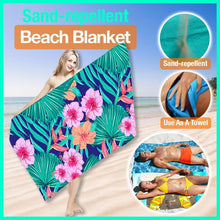 Load image into Gallery viewer, Sand-Repellent Beach Blanket