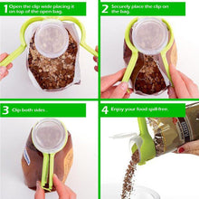 Load image into Gallery viewer, Seal Pour Food Storage Bag Clip - 2pcs Set