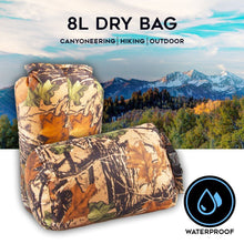 Load image into Gallery viewer, Camouflage Portable 8L Waterproof Bag