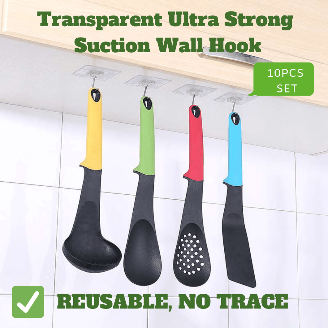 Transparent Ultra Strong Suction Wall Hook