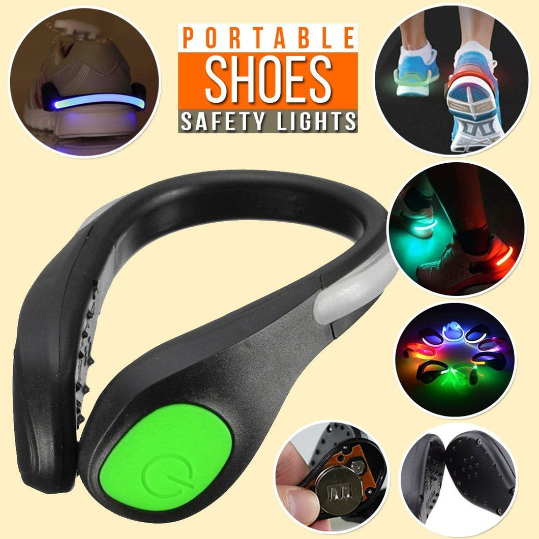 LED Safety Shoe Clip - 1 Pair