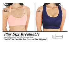 Load image into Gallery viewer, Plus Size Breathable Sports Bra (L to 6XL)