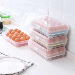 Antibacterial Egg Holder for 15 Eggs
