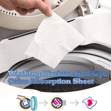 Load image into Gallery viewer, Premium Anti-Dye Laundry Color Absorption Cloth