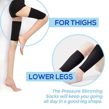 Load image into Gallery viewer, Women Slimming Leg & Thigh Compression Sleeve