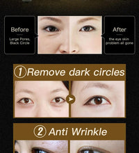 Load image into Gallery viewer, Natural Black Pearl Golden Collagen Eye Mask - 60pcs