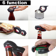 Load image into Gallery viewer, 6 in 1 Multi-Function Twist Bottle Opener