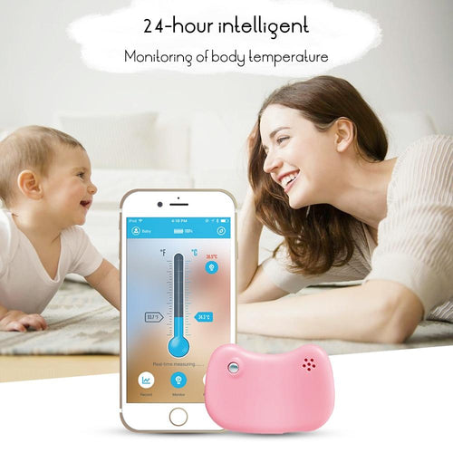 Intelligent 24 Hours Monitoring Bluetooth Thermometer