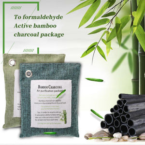 Natural Bamboo Charcoal Air Purifying Bag