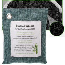Load image into Gallery viewer, Natural Bamboo Charcoal Air Purifying Bag