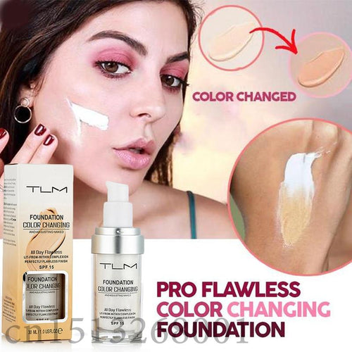 Pro Flawless Color Changing Liquid Foundation
