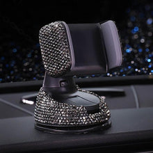 Load image into Gallery viewer, Crystal Rhinestone Universal Car Phone Holder