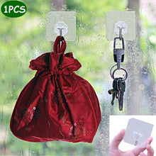 Load image into Gallery viewer, Transparent Ultra Strong Suction Wall Hook
