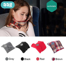 Load image into Gallery viewer, TRAVANA Travel Neck Support Scarf Pillow