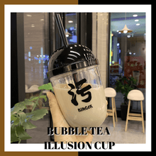 Load image into Gallery viewer, Funny Bubble Tea Illusion Cup