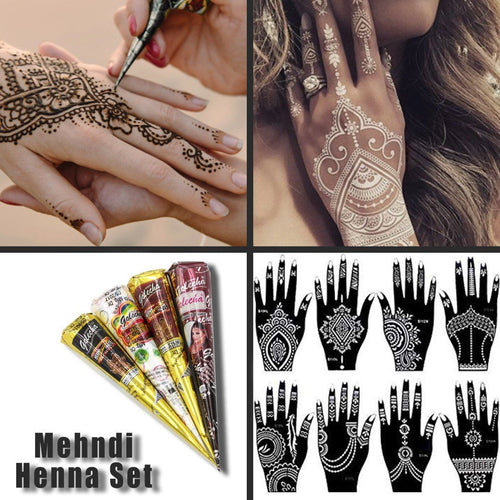 Indian Mehndi Henna Tattoo Paste Cone