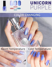 Load image into Gallery viewer, Double-Tone Thermochromic Nail Polish