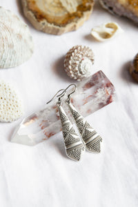 Antique Silver Earrings #27