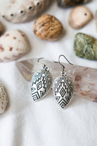 Antique Silver Earrings #08