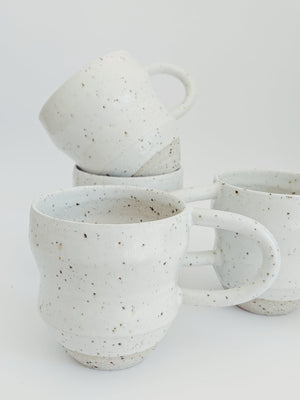 Stargazer Cup in White Speckle