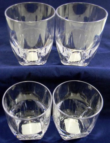 Small tumbler glasses pack of 4