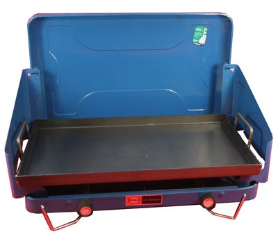 BBQ Plate for 2 burner stove