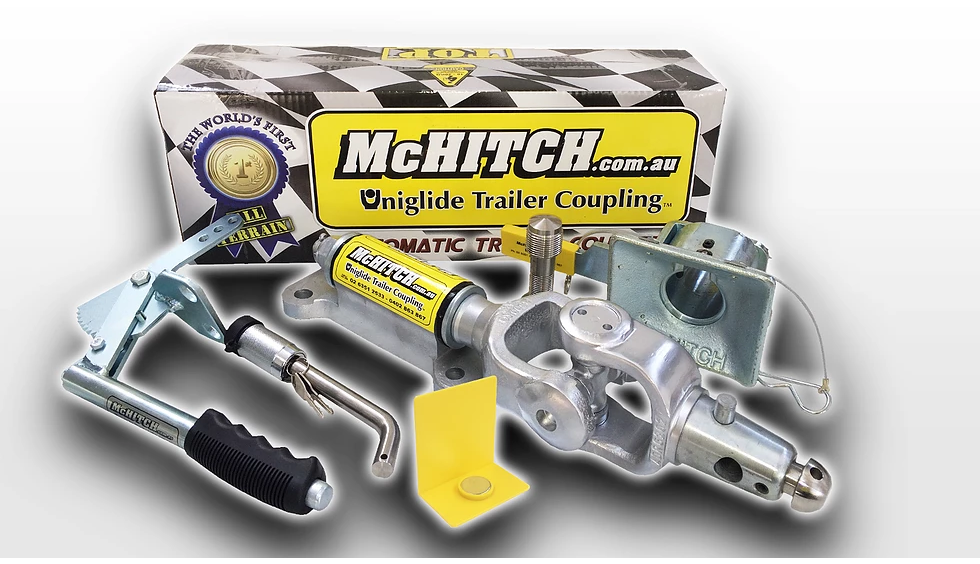 McHitch  Automatic Caravan Coupler no handbrake
