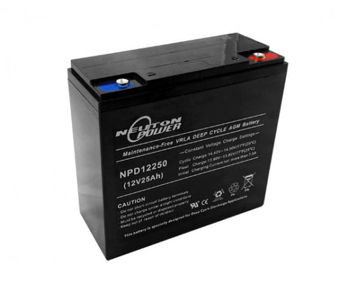 Neuton Power AGM Deep Cycle NPD12250 12V 25Ah Battery