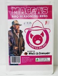 Macca's BBQ Seasoning Meat Rubs