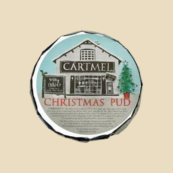 Individual Cartmel Village Shop Christmas Pudding 120g