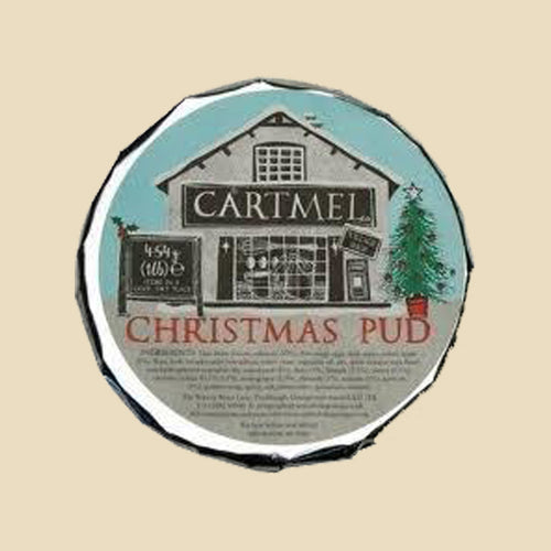 Family Size Cartmel Village Shop Christmas Pudding 454g
