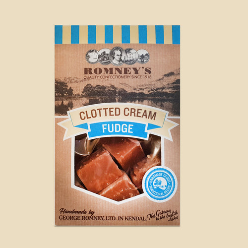 Romneys, Clotted Cream Fudge Box