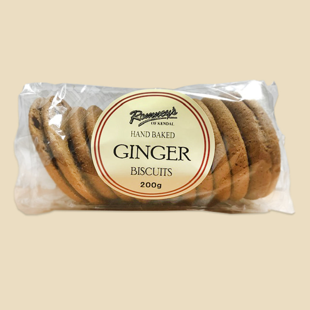 Romneys, Ginger Biscuits