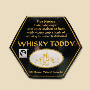 Fairtrade Spices For Whisky Toddy In Hexagonal Gift Box - Old Hamlet