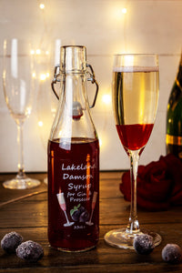Lakeland Damson Fruit Syrup for Gin & Prosecco