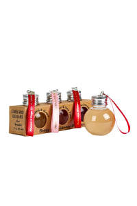 Three Boozy Baubles in presentation box
