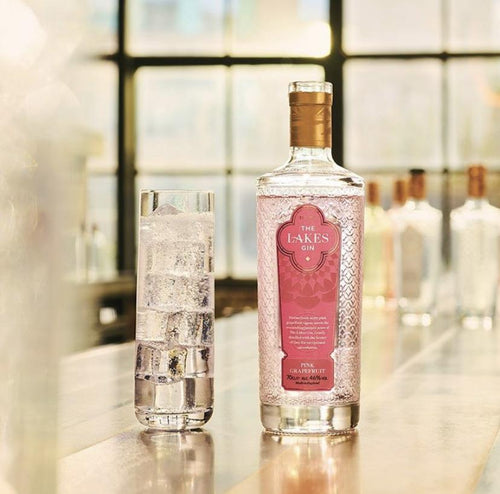 The Lakes Pink Grapefruit Gin 70cl
