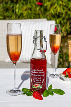 Load image into Gallery viewer, Lakeland Herbaceous Strawberry Fruit Syrup for Gin & Prosecco
