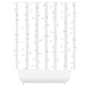 Dinosaur Name Outline Shower Curtain