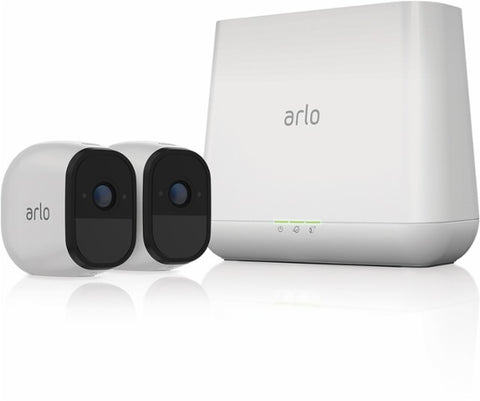 Arlo Pro HD Security Camera Bundle w/ Solar Panel (2 Cameras)