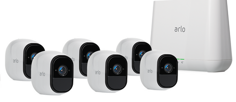 Arlo Pro HD Security Camera Bundle (6 Cameras)