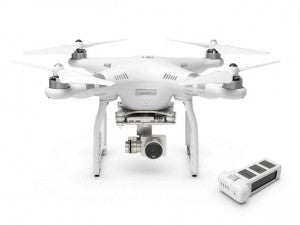 DJI Phantom 3 Advanced 1080p 12MP HD Camera with Additional 2nd Battery