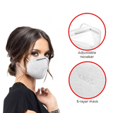 5 Layer Protective Face Mask (Case of 100)