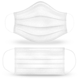 Face Masks - Standard Breathable and Disposable Cloth Face Masks (Pack of 50)