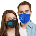 Standard Flat Cotton Face Mask with Pocket for Filter Insert (Case of 100)